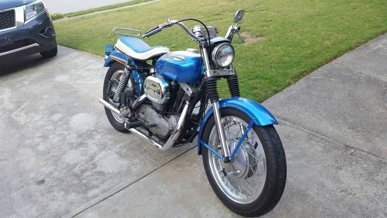 See more photos for this Harley-Davidson Sportster , 1967 motorcycle listing
