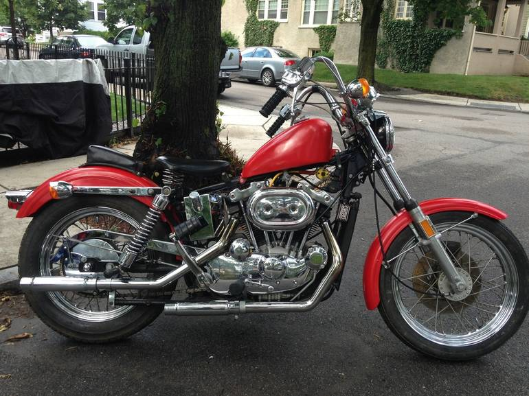 See more photos for this Harley-Davidson Sportster 1000 , 1974 motorcycle listing