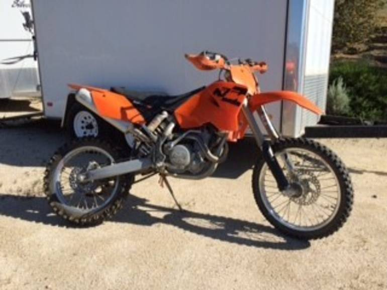 See more photos for this KTM Mxc 525, 2005 motorcycle listing