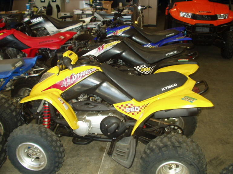 See more photos for this Kymco MONGOOSE 250, 2005 motorcycle listing