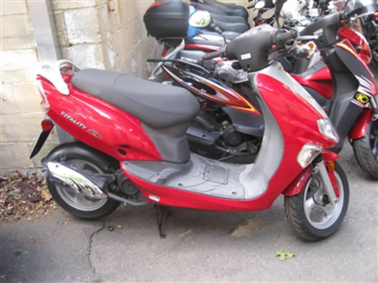 See more photos for this Kymco VITALITY50, 2007 motorcycle listing