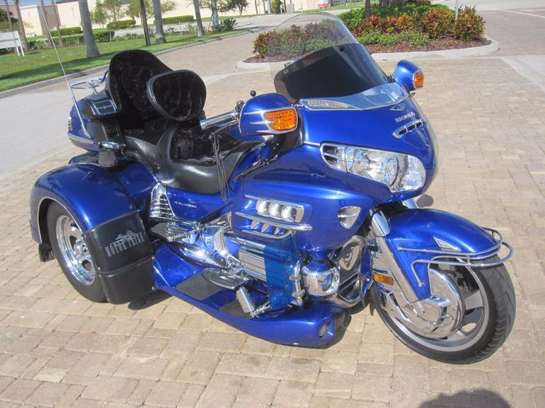 See more photos for this Motor Trike Gold Wing, 2005 motorcycle listing