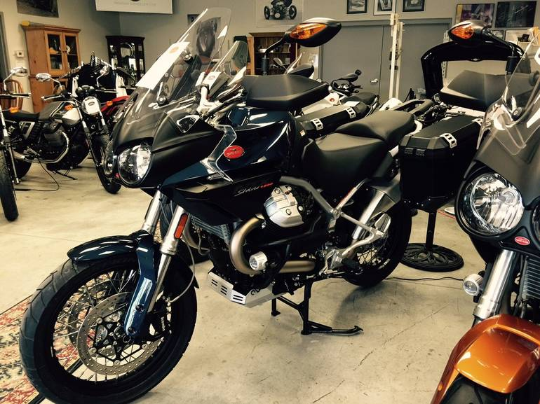 See more photos for this Moto Guzzi STELVIO 1200 NTX, 2015 motorcycle listing