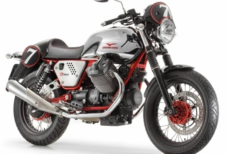 See more photos for this Moto Guzzi V7 RACER, 2015 motorcycle listing