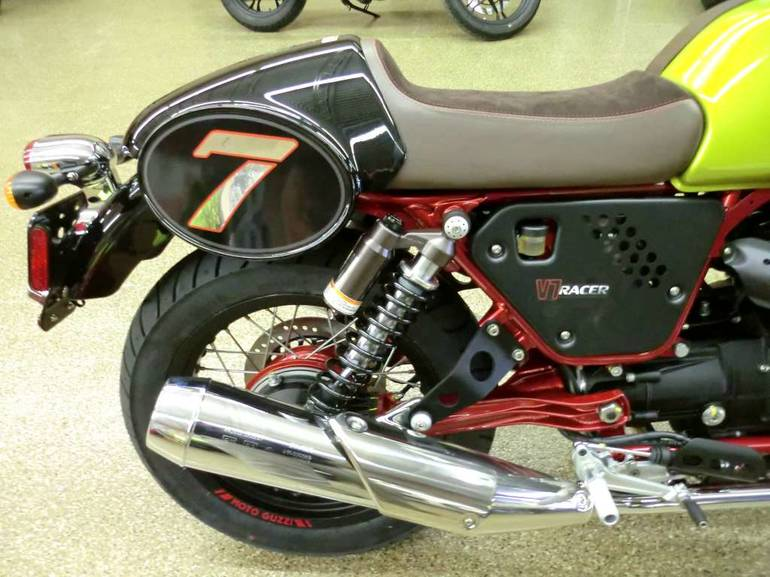See more photos for this Moto Guzzi V7 Racer Verde Legnano SE, 2015 motorcycle listing