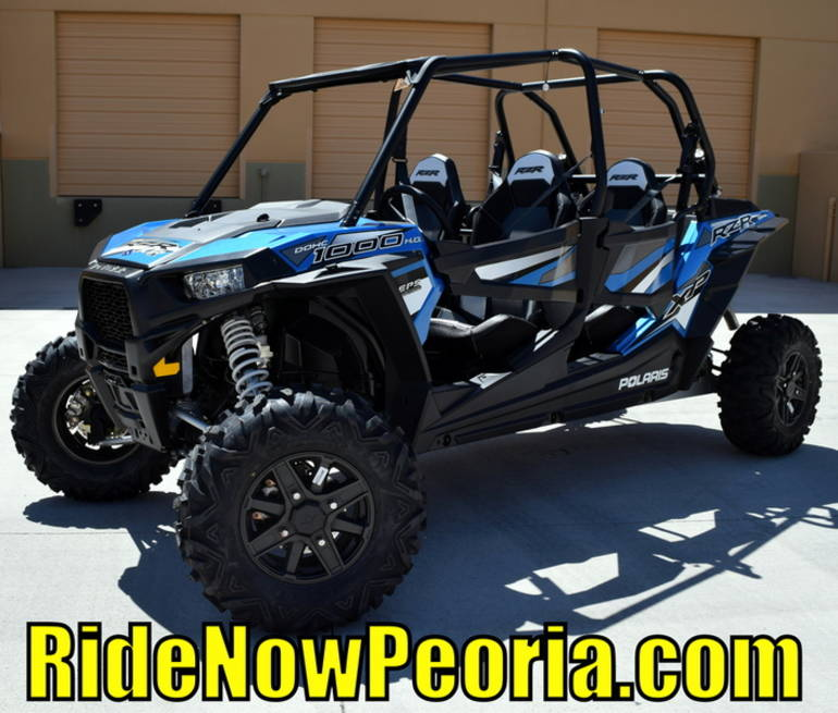 See more photos for this Polaris RZR XP 4 1000 EPS Electric Blue Metallic, 2016 motorcycle listing
