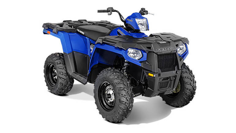 See more photos for this Polaris SPORTSMAN ETX VELOCITY BLUE, 2016 motorcycle listing