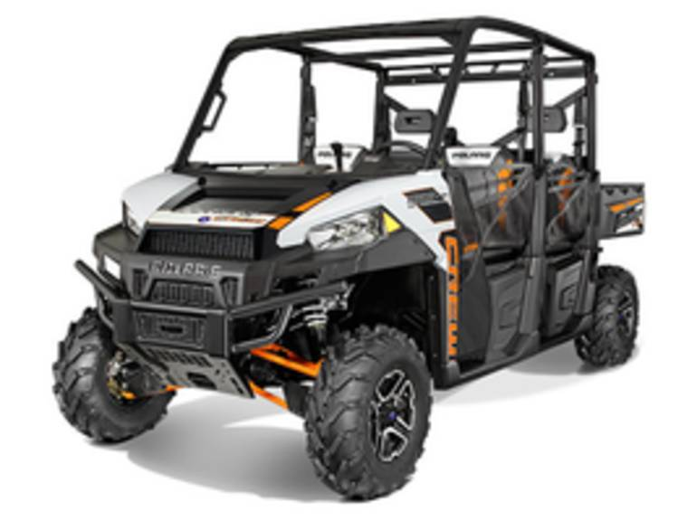 See more photos for this Polaris Ranger Crew 900-6 EPS White Lightning, 2015 motorcycle listing
