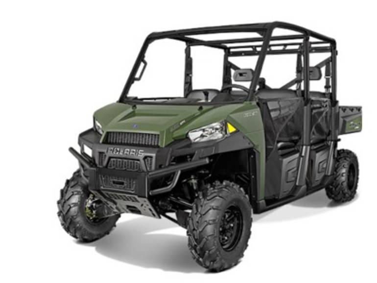 See more photos for this Polaris Ranger Crew 900-6 Sage Green, 2015 motorcycle listing