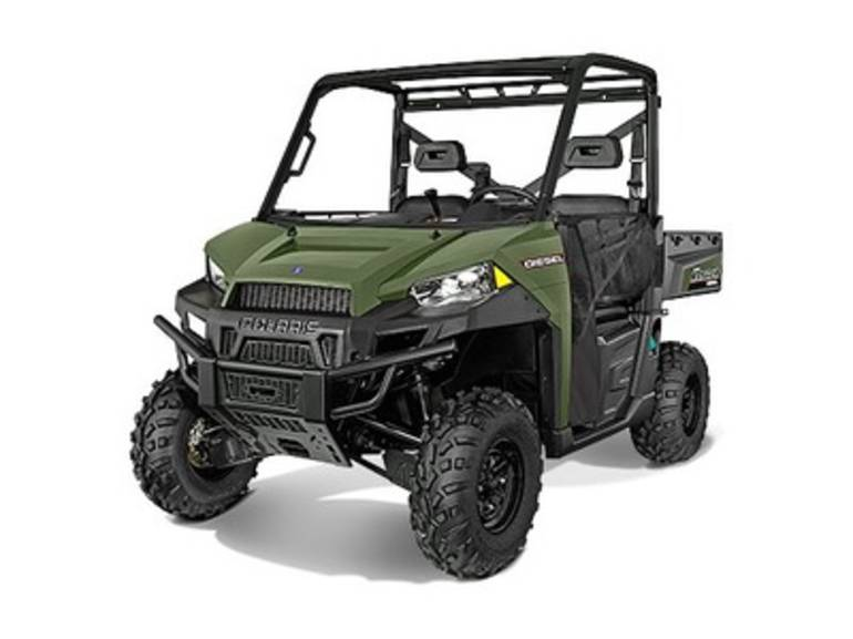 See more photos for this Polaris Ranger Diesel Sage Green, 2015 motorcycle listing