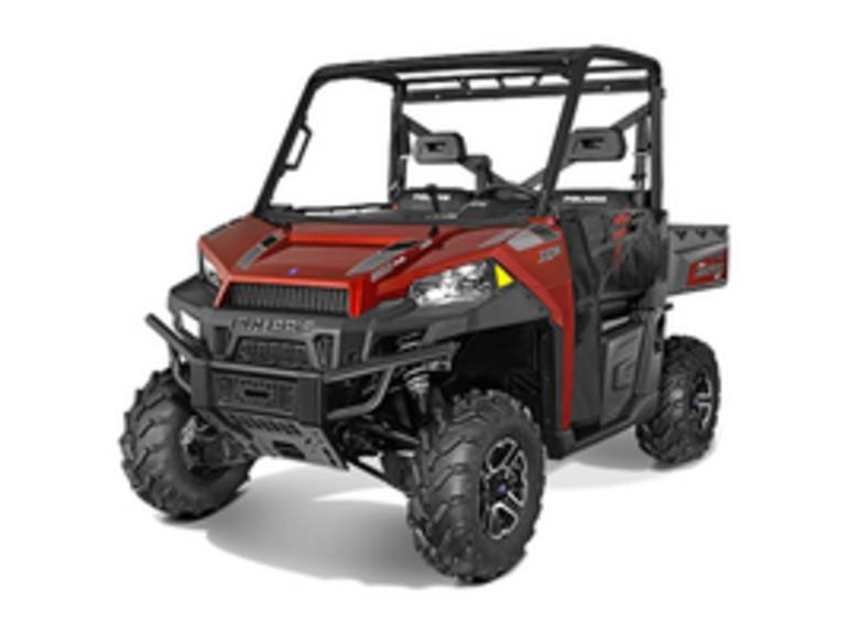 See more photos for this Polaris Ranger XP 900 EPS Sunset Red, 2015 motorcycle listing