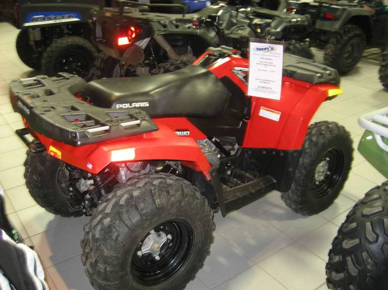2012 Polaris Sportsman 400 H O  Motorcycle From Kaukauna, WI