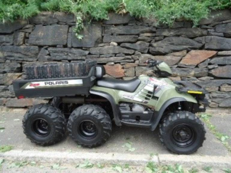See more photos for this Polaris SPORTSMAN 500 6X6 WITH TRACK KIT, 2004 motorcycle listing