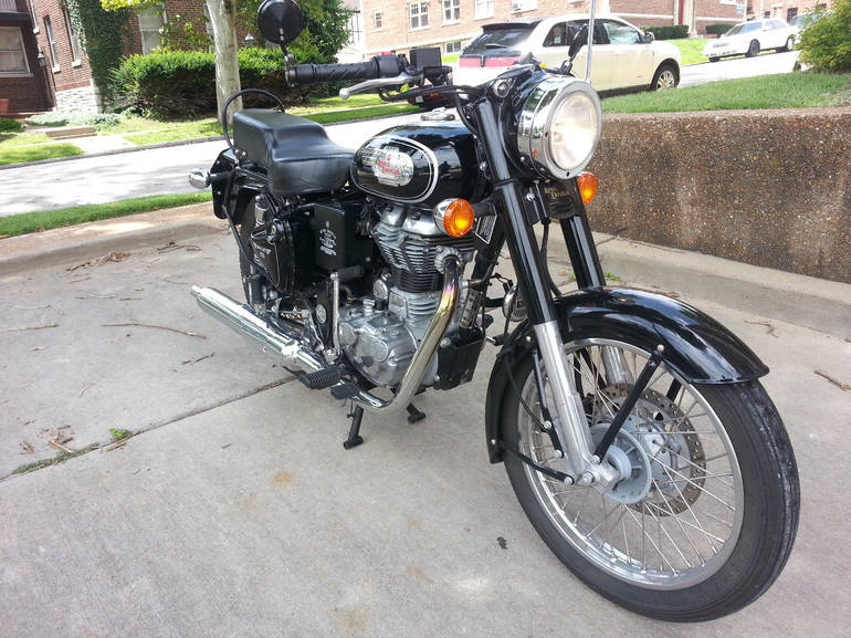 See more photos for this Royal Enfield Bullet 500 B5 (EFI), 2014 motorcycle listing