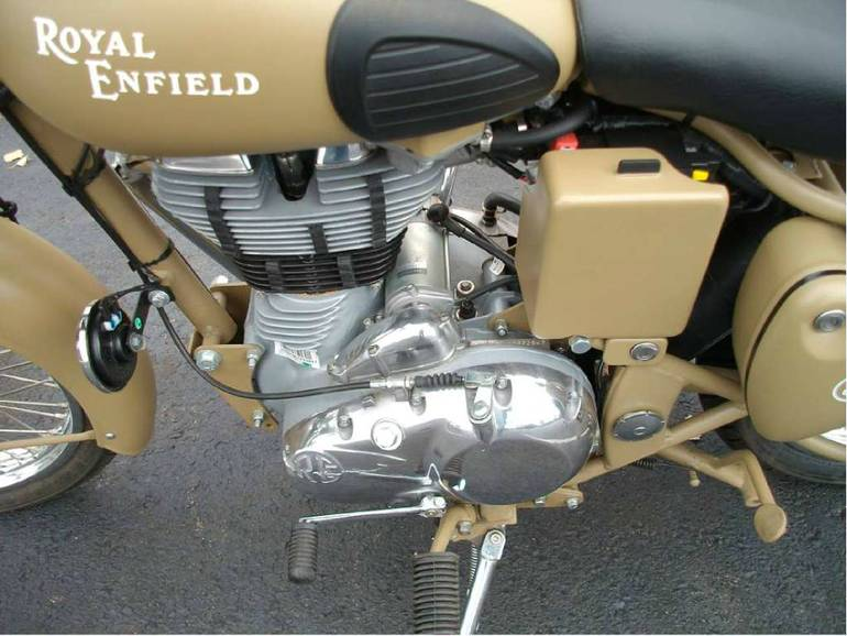 See more photos for this Royal Enfield Bullet C5 Military, 2014 motorcycle listing