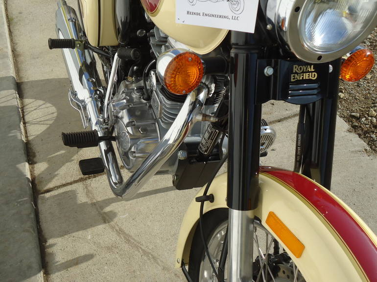 See more photos for this Royal Enfield BULLET CLASSIC C5 (EFI), 2015 motorcycle listing