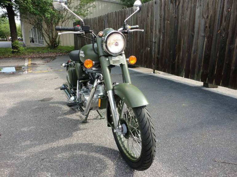See more photos for this Royal Enfield Bullet C5 Military, 2015 motorcycle listing