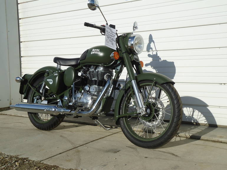 See more photos for this Royal Enfield C5 Military, 2015 motorcycle listing