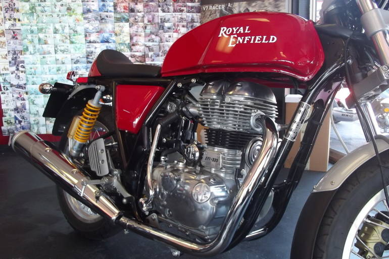 See more photos for this Royal Enfield Continental GT CAFE, 2015 motorcycle listing