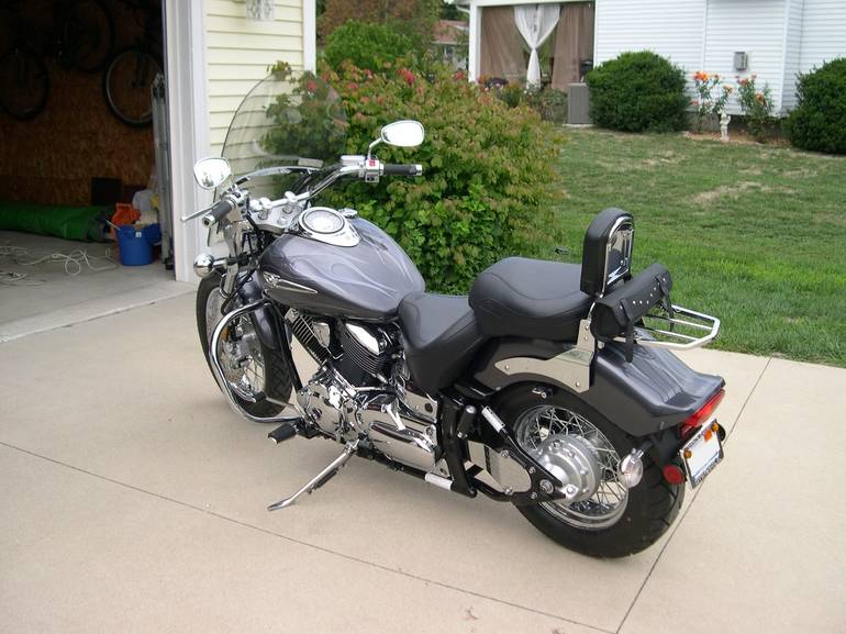 See more photos for this Star Motorcycles V Star CUSTOM, 2005 motorcycle listing