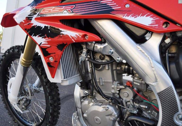 See more photos for this Ssr Motorsports SR250S, 2014 motorcycle listing