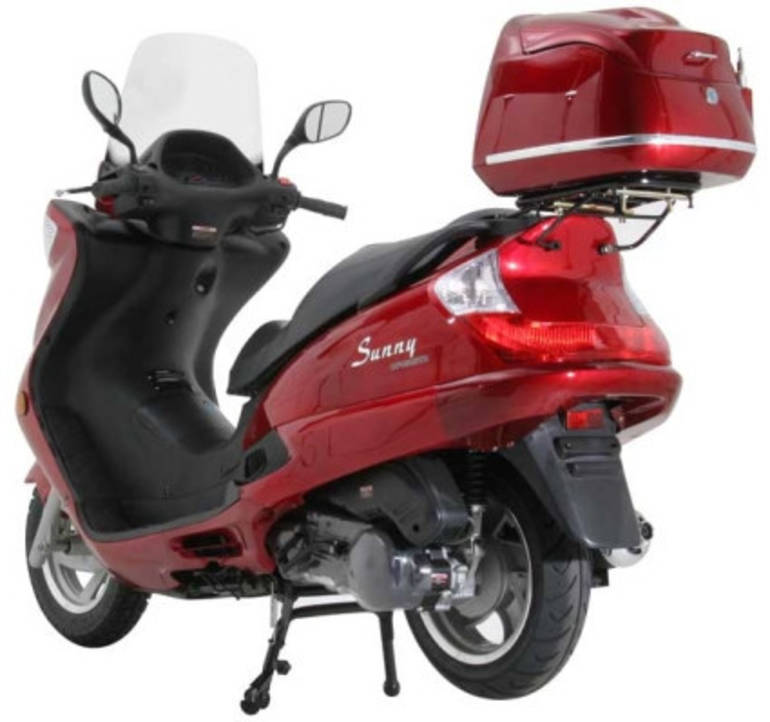 See more photos for this Sunny 150cc MC_D150H 4-Stroke Moped Scooter ON SALE, 2014 motorcycle listing