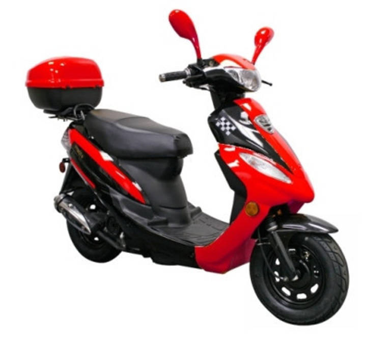 See more photos for this Sunny 50cc Europa Deluxe Moped Scooter ON SALE, 2014 motorcycle listing