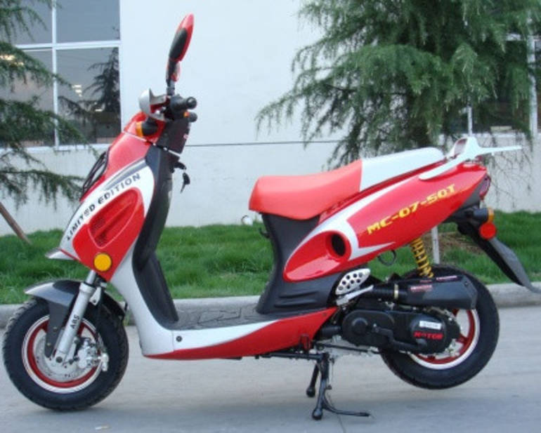 See more photos for this Sunny 50cc Single Cylinder 2 Stroke Moped Scooter ON SALE, 2014 motorcycle listing