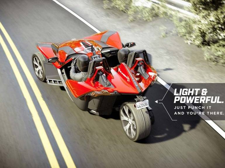 See more photos for this Polaris Slingshot Reverse Trike, 2015 motorcycle listing