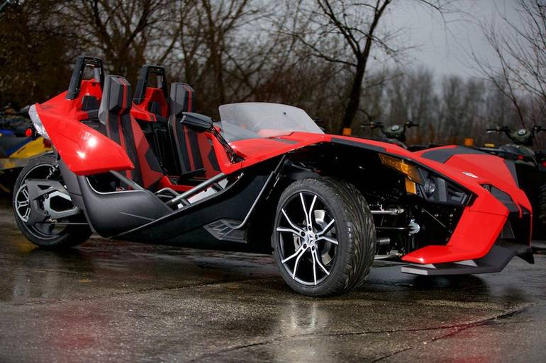 2015 Polaris Slingshot Sl Reverse Trike Motorcycle From