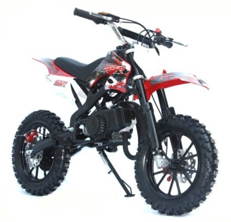See more photos for this Ssr Motorsports SSR SX50 Automatic Dirt Bike, 2015 motorcycle listing