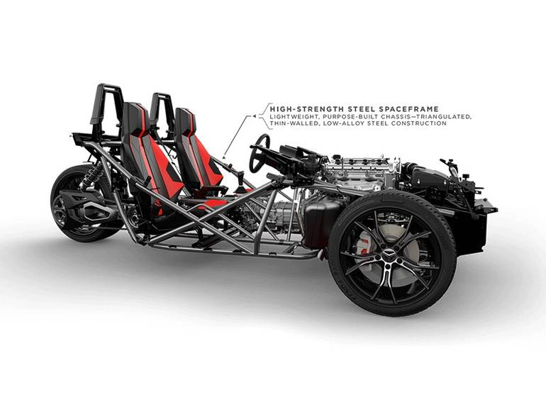 See more photos for this Polaris Slingshot Reverse Trike SL, 2016 motorcycle listing