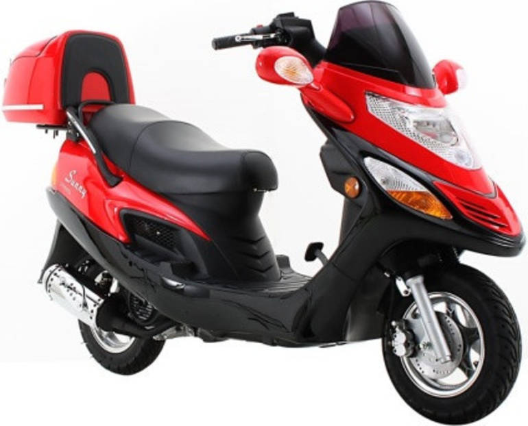 2012 Sunny 150cc Eagle D150C Scooter Moped Motorcycle From