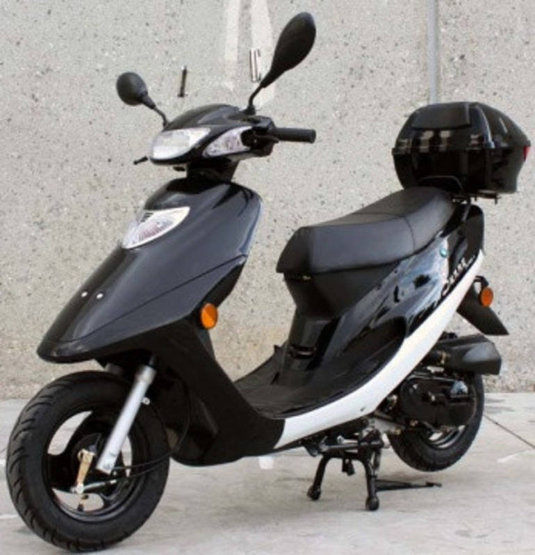 2015 tao tao 50cc roarin 39 thunder 4 stroke moped scooter. Black Bedroom Furniture Sets. Home Design Ideas