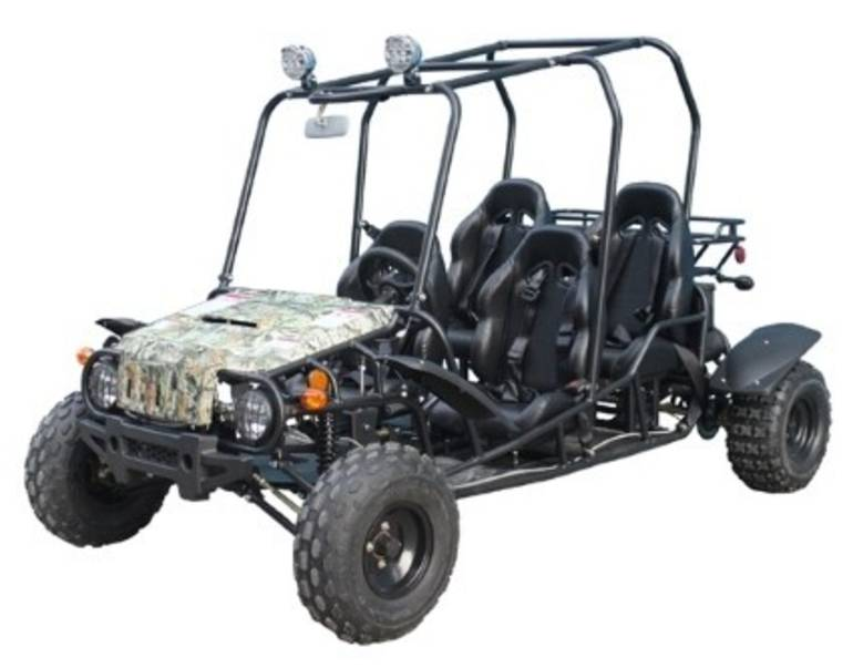 See more photos for this Taotao Brand New 150cc GTK4150 4 Seater Wrangler Go Kart, 2015 motorcycle listing