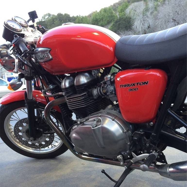 See more photos for this Triumph Thruxton 900, 2006 motorcycle listing