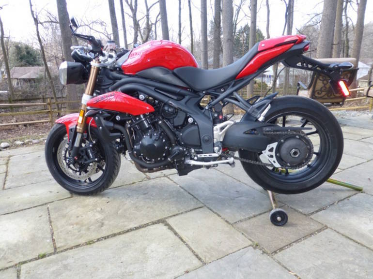 See more photos for this Triumph Speed Triple 1050, 2011 motorcycle listing