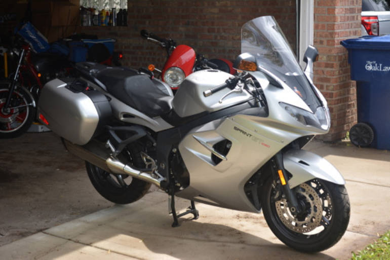 See more photos for this Triumph Sprint GT, 2011 motorcycle listing