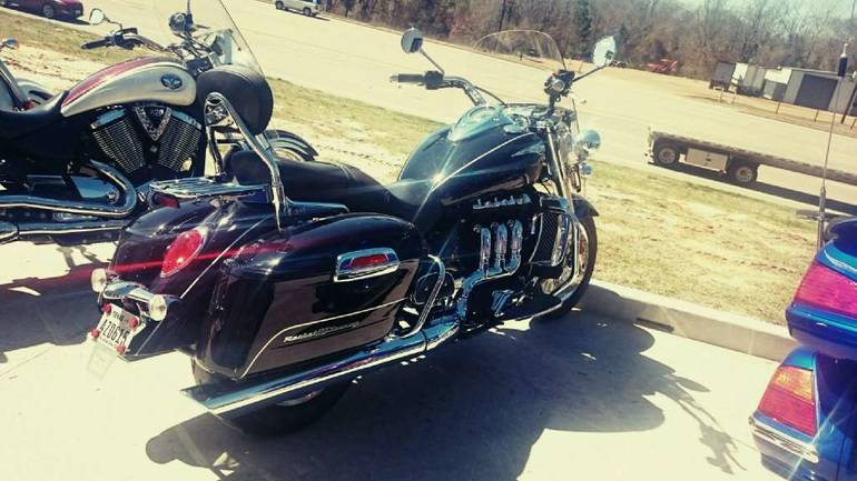 See more photos for this Triumph Rocket III Touring ABS - Phantom Black, 2013 motorcycle listing