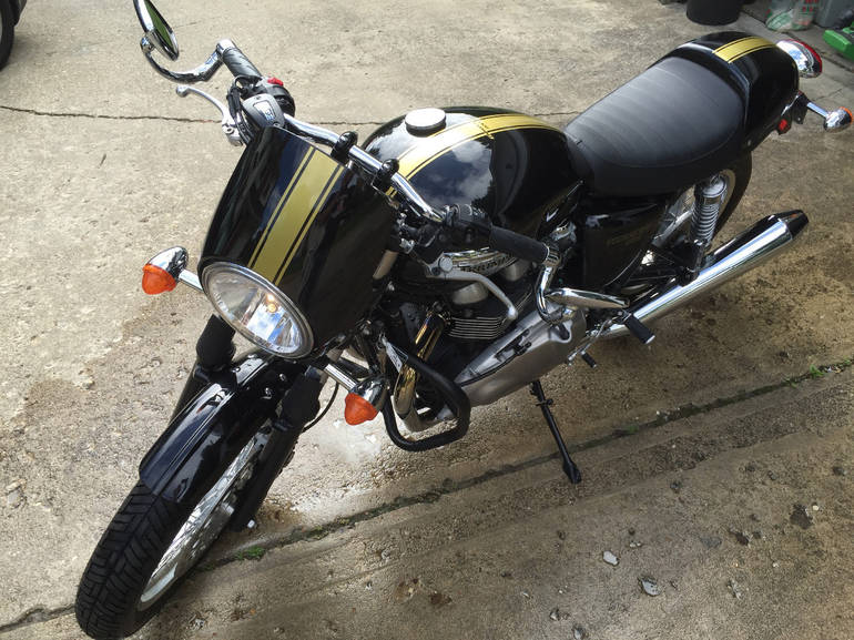 See more photos for this Triumph Thruxton EFI, 2013 motorcycle listing