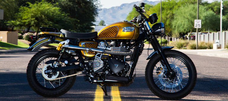 See more photos for this Triumph SCRAMBLER 54, 2014 motorcycle listing