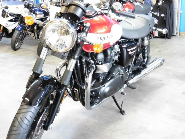 See more photos for this Triumph Bonneville Newchurch Special Edition, 2015 motorcycle listing