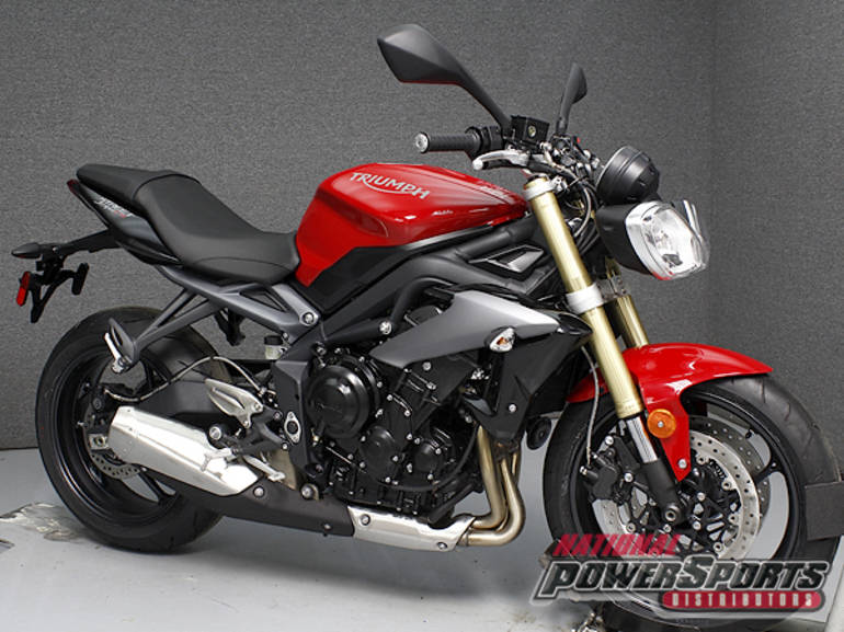 2015 Triumph STREET TRIPLE W/ABS Motorcycle From Pembroke, NH,Today