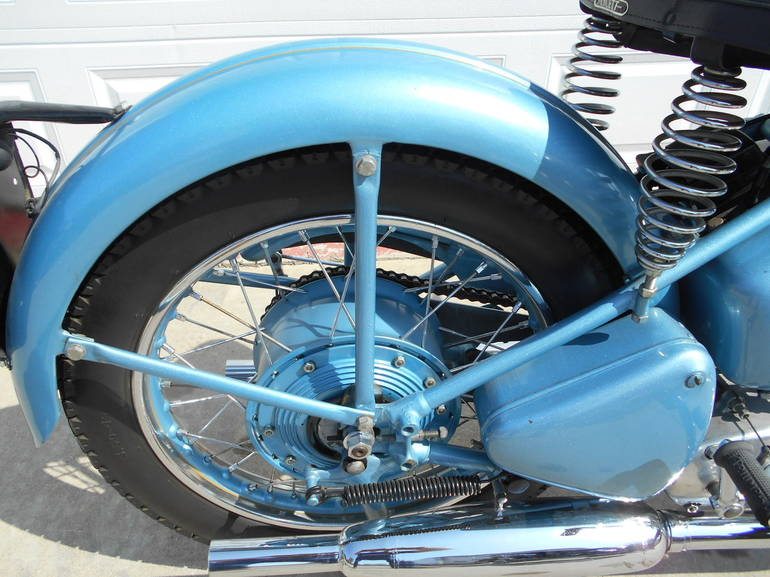 1952 Triumph 6T GT Motorcycle From Westport, IN,Today Sale $16,500 - MotorcycleForSales.com