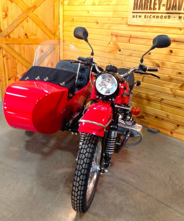 See more photos for this Ural Tourist 750, 2011 motorcycle listing