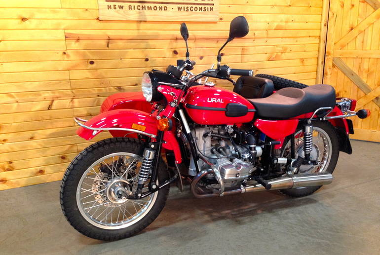 2011 Ural Tourist 750 Motorcycle From New Richmond, WI ...