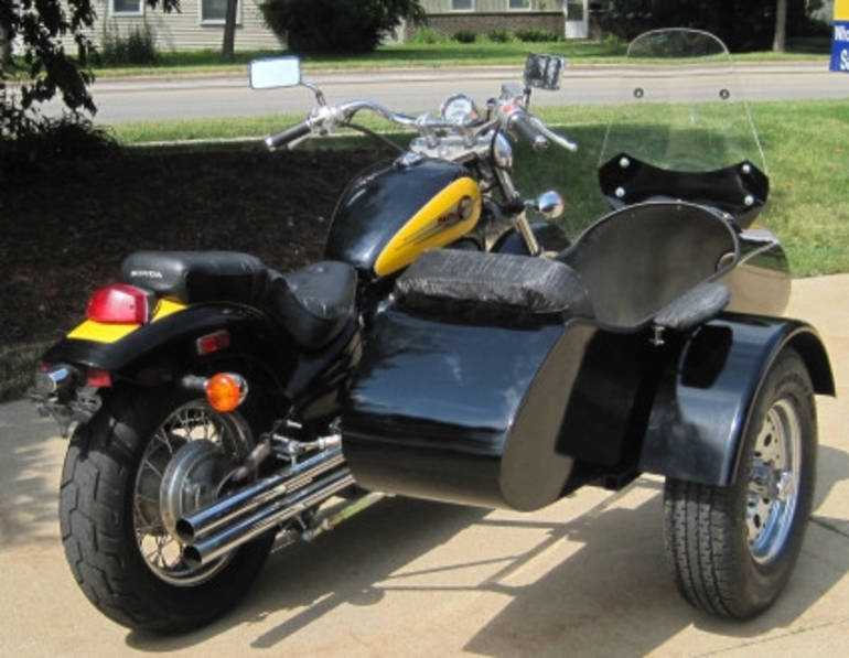 See more photos for this Gsi Classical RocketTeer Motorcycle Sidecar Kit - Aprilia, 2014 motorcycle listing