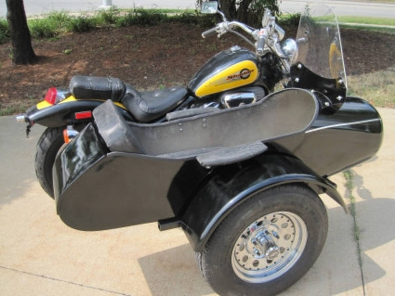 See more photos for this Gsi Classical RocketTeer Motorcycle Sidecar Kit - Kymco, 2014 motorcycle listing