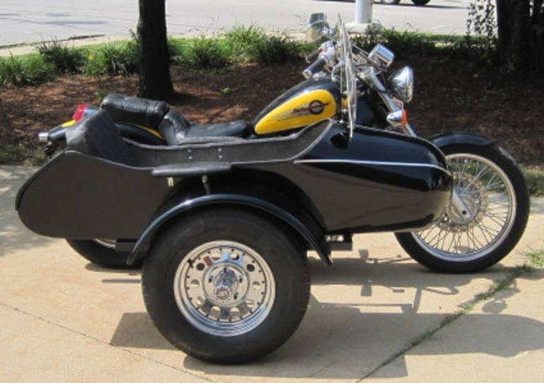 See more photos for this Gsi Classical RocketTeer Motorcycle Sidecar Kit - Triumph, 2014 motorcycle listing