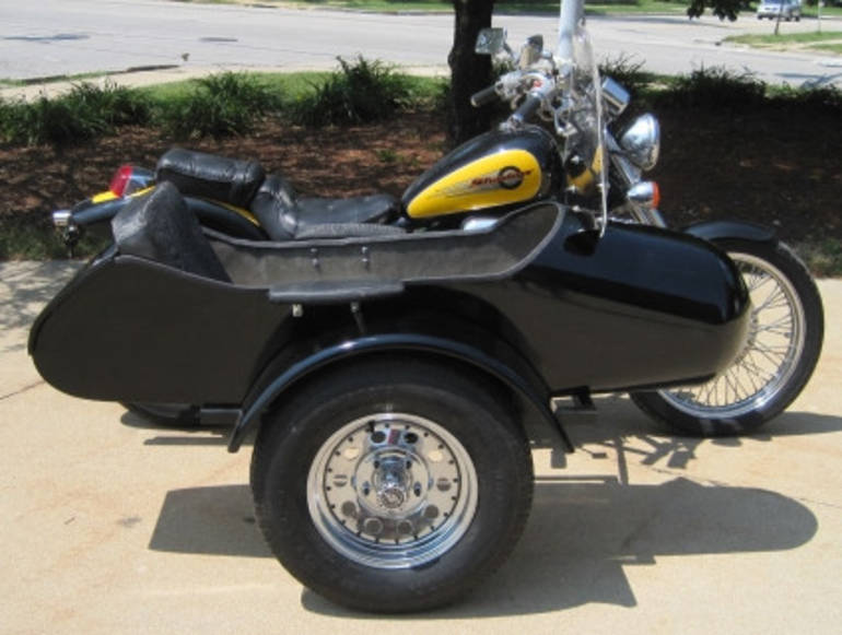 See more photos for this Gsi Standard RocketTeer Motorcycle Sidecar Kit - Suzuki, 2014 motorcycle listing